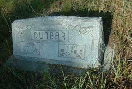 DUNBAR, MINNIE - Loup County, Nebraska | MINNIE DUNBAR - Nebraska Gravestone Photos
