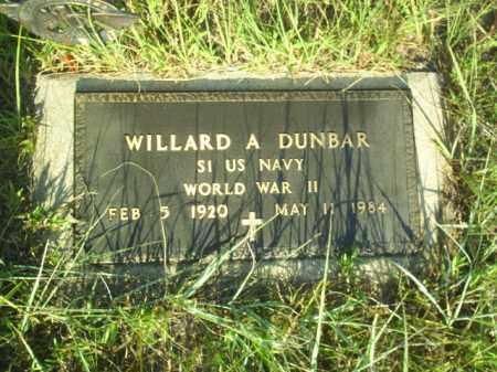 DUNBAR, WILLARD - Loup County, Nebraska | WILLARD DUNBAR - Nebraska Gravestone Photos