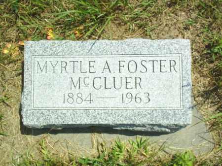 FOSTER, MYRTLE - Loup County, Nebraska | MYRTLE FOSTER - Nebraska Gravestone Photos