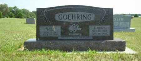 GOEHRING, ELVA - Loup County, Nebraska | ELVA GOEHRING - Nebraska Gravestone Photos