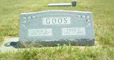 GOOS, LOLA - Loup County, Nebraska | LOLA GOOS - Nebraska Gravestone Photos