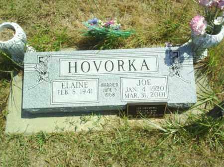 HOVORKA, JOE - Loup County, Nebraska   JOE HOVORKA - Nebraska Gravestone Photos