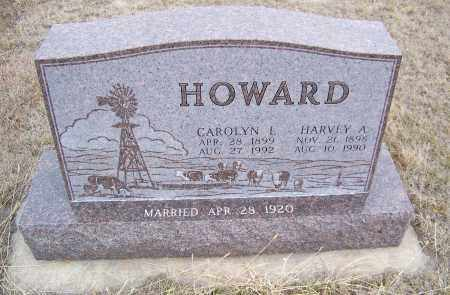 HOWARD, CAROLYN L. - Loup County, Nebraska | CAROLYN L. HOWARD - Nebraska Gravestone Photos