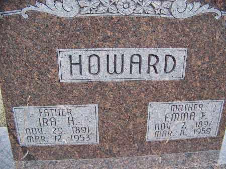 HOWARD, EMMA F. - Loup County, Nebraska | EMMA F. HOWARD - Nebraska Gravestone Photos