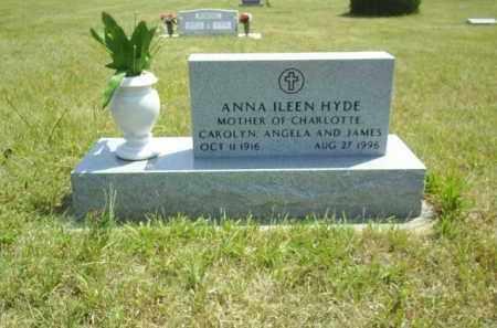 HYDE, ANNA ILEEN - Loup County, Nebraska | ANNA ILEEN HYDE - Nebraska Gravestone Photos