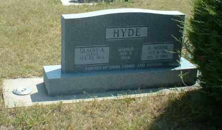 HYDE, D. WAYNE - Loup County, Nebraska   D. WAYNE HYDE - Nebraska Gravestone Photos