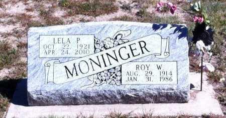MONINGER, LELA P. - Loup County, Nebraska   LELA P. MONINGER - Nebraska Gravestone Photos
