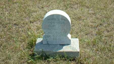 RICH, BAYBE SON OF WM. & LOTTIE - Loup County, Nebraska | BAYBE SON OF WM. & LOTTIE RICH - Nebraska Gravestone Photos