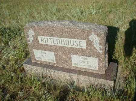 RITTENHOUSE, IDA - Loup County, Nebraska   IDA RITTENHOUSE - Nebraska Gravestone Photos