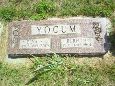 YOCUM, BUREL - Loup County, Nebraska | BUREL YOCUM - Nebraska Gravestone Photos