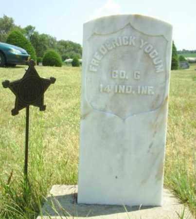 YOCUM, FREDERICK - Loup County, Nebraska   FREDERICK YOCUM - Nebraska Gravestone Photos