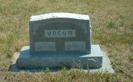 YOCUM, FREDRICK - Loup County, Nebraska | FREDRICK YOCUM - Nebraska Gravestone Photos