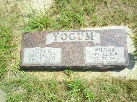 YOCUM, LURA - Loup County, Nebraska | LURA YOCUM - Nebraska Gravestone Photos