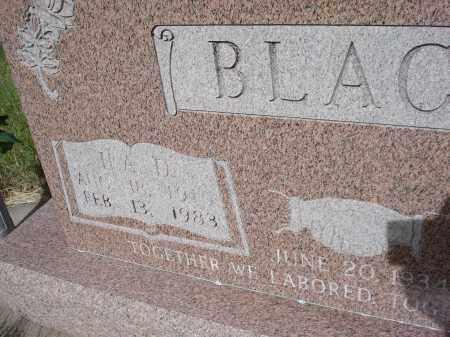 BLACK, ILA D. - McPherson County, Nebraska | ILA D. BLACK - Nebraska Gravestone Photos