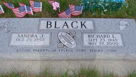 BLACK, SANDRA J. - McPherson County, Nebraska | SANDRA J. BLACK - Nebraska Gravestone Photos