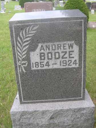 BOOZE, ANDREW - McPherson County, Nebraska | ANDREW BOOZE - Nebraska Gravestone Photos