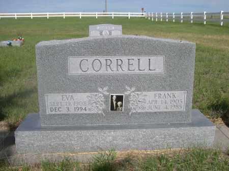 CORRELL, FRANK - McPherson County, Nebraska   FRANK CORRELL - Nebraska Gravestone Photos