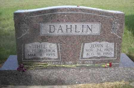 DAHLINQ, JOHN L. - McPherson County, Nebraska | JOHN L. DAHLINQ - Nebraska Gravestone Photos
