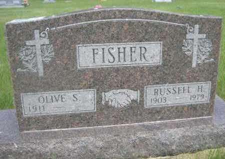 FISHER, OLIVE S. - McPherson County, Nebraska   OLIVE S. FISHER - Nebraska Gravestone Photos
