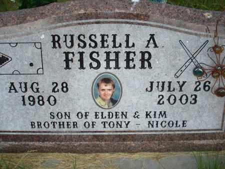 FISHER, RUSSELL A. - McPherson County, Nebraska   RUSSELL A. FISHER - Nebraska Gravestone Photos
