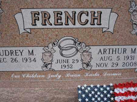 FRENCH, ARTHUR M. - McPherson County, Nebraska | ARTHUR M. FRENCH - Nebraska Gravestone Photos