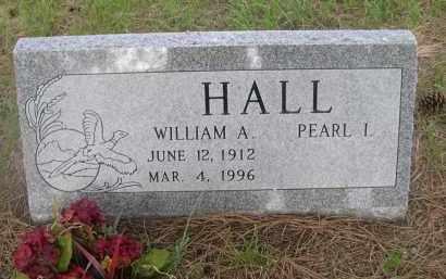 HALL, WILLIAM A. - McPherson County, Nebraska | WILLIAM A. HALL - Nebraska Gravestone Photos