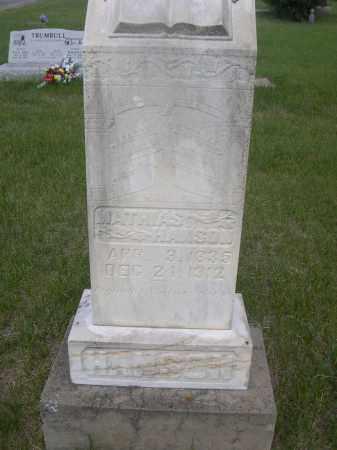 HANSON, MATHIAS - McPherson County, Nebraska | MATHIAS HANSON - Nebraska Gravestone Photos