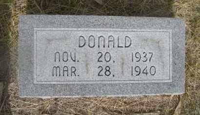 HAYNES, DONALD - McPherson County, Nebraska | DONALD HAYNES - Nebraska Gravestone Photos