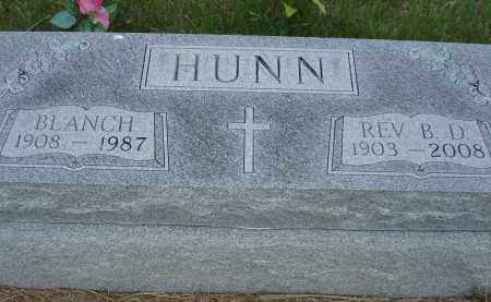 HUNN, BLANCH - McPherson County, Nebraska | BLANCH HUNN - Nebraska Gravestone Photos