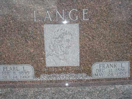 LANGE, PEARL L. - McPherson County, Nebraska | PEARL L. LANGE - Nebraska Gravestone Photos