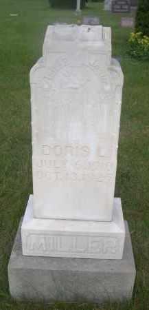 MILLER, DORIS L. - McPherson County, Nebraska | DORIS L. MILLER - Nebraska Gravestone Photos