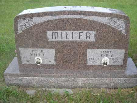 MILLER, NETTIE E. - McPherson County, Nebraska | NETTIE E. MILLER - Nebraska Gravestone Photos