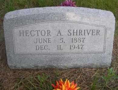 SHRIVER, HECTOR A. - McPherson County, Nebraska | HECTOR A. SHRIVER - Nebraska Gravestone Photos
