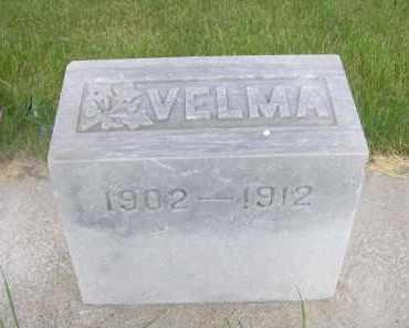 TRUMBULL, VELMA - McPherson County, Nebraska   VELMA TRUMBULL - Nebraska Gravestone Photos