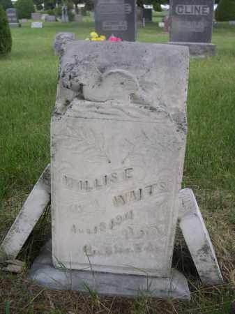 WAITS, WILLIS E. - McPherson County, Nebraska | WILLIS E. WAITS - Nebraska Gravestone Photos