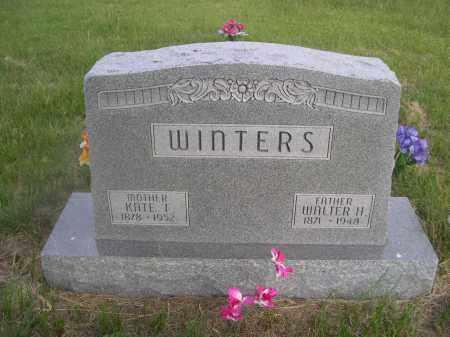 WINTERS, KATE F. - McPherson County, Nebraska | KATE F. WINTERS - Nebraska Gravestone Photos