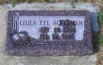 ACKERMAN, LEOLA - Madison County, Nebraska | LEOLA ACKERMAN - Nebraska Gravestone Photos