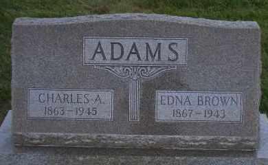 ADAMS, CHARLES A - Madison County, Nebraska | CHARLES A ADAMS - Nebraska Gravestone Photos