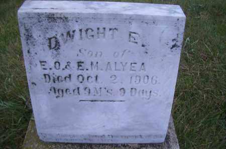 ALYEA, DWIGHT E - Madison County, Nebraska | DWIGHT E ALYEA - Nebraska Gravestone Photos