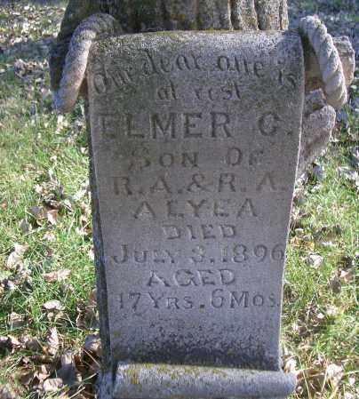 ALYEA, ELMER C - Madison County, Nebraska | ELMER C ALYEA - Nebraska Gravestone Photos