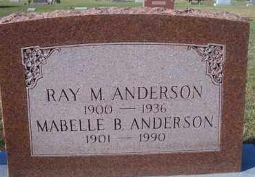 NEELY ANDERSON, MABELLE B - Madison County, Nebraska | MABELLE B NEELY ANDERSON - Nebraska Gravestone Photos