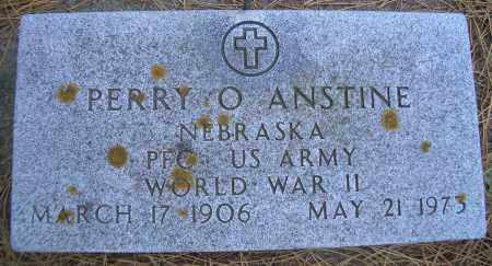 ANSTINE, PERRY O - Madison County, Nebraska | PERRY O ANSTINE - Nebraska Gravestone Photos