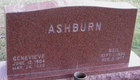 ASHBURN, GENEVIEVE - Madison County, Nebraska | GENEVIEVE ASHBURN - Nebraska Gravestone Photos