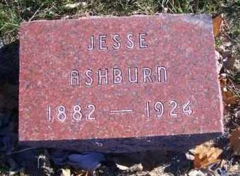 ASHBURN, JESSE - Madison County, Nebraska | JESSE ASHBURN - Nebraska Gravestone Photos