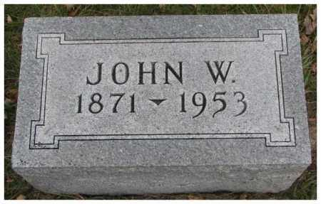 ASHBURN, JOHN W. - Madison County, Nebraska | JOHN W. ASHBURN - Nebraska Gravestone Photos