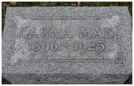 ASHBURN, LAURA MAE - Madison County, Nebraska | LAURA MAE ASHBURN - Nebraska Gravestone Photos