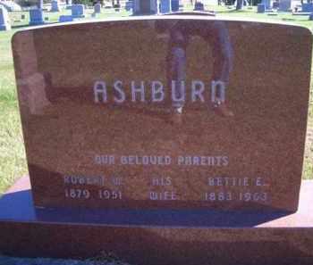 ASHBURN, ROBERT W - Madison County, Nebraska | ROBERT W ASHBURN - Nebraska Gravestone Photos