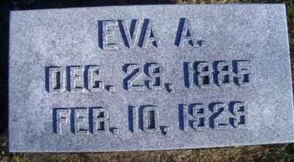 BAKER, EVA A - Madison County, Nebraska   EVA A BAKER - Nebraska Gravestone Photos