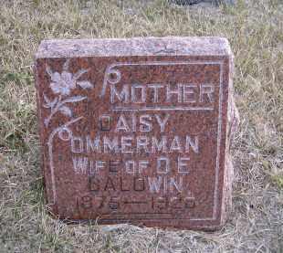 OMMERMAN BALDWIN, DAISY - Madison County, Nebraska | DAISY OMMERMAN BALDWIN - Nebraska Gravestone Photos