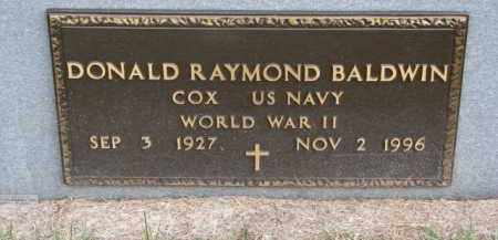 BALDWIN, DONALD RAYMOND (MILITARY MARKER) - Madison County, Nebraska | DONALD RAYMOND (MILITARY MARKER) BALDWIN - Nebraska Gravestone Photos
